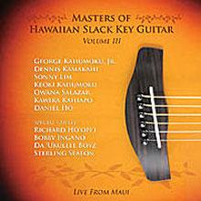 Masters of Hawaiian Slack Key Guitar, vol. 3